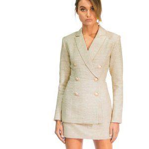 MISHA COLLECTION Azalea Blazer Zoe Skirt Suit NEW
